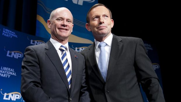 The Prime Minister's apparent unpopularity in Queensland has been a thorn in Premier Campbell Newman's side.