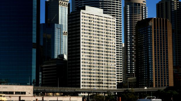 Gold Fields House, 1 Alfred Street, Circular Quay, is on the market.
