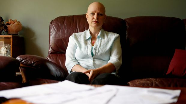 Out-of-pocket: Sharon Driessen, 48, has spent about $15,000 on treatment since being diagnosed with secondary breast ...