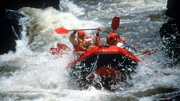 A file picture of the swiftly running Nymboida River.