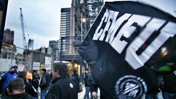 The resignation comes just after CFMEU boss John Setka was charged with blackmail.