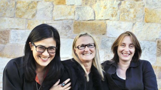 Kitchen whizzes ... the high-profile chefs Kylie Kwong, Christine Manfield and Alex Herbert  are among the few women to ...