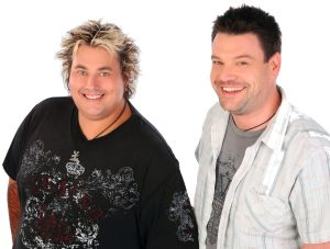Scotty Masters and Nigel Johnson aka Scotty and Nige from 104.7 narrowed 666 ABC Canberra's lead in the breakfast market.