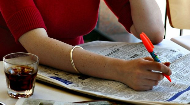 ANZ's survey of job ads shows the number of positions advertised in the final month of 2017 sank 2.3 per cent from ...