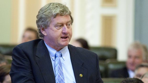 Gregory MP Vaughan Johnson is retiring after 25 years in state politics.