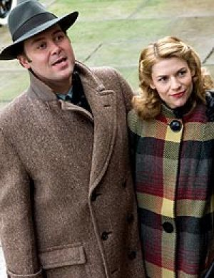 Awesome Orson: Christian McKay and Claire Danes in <i>Me and Orson Welles</i>.
