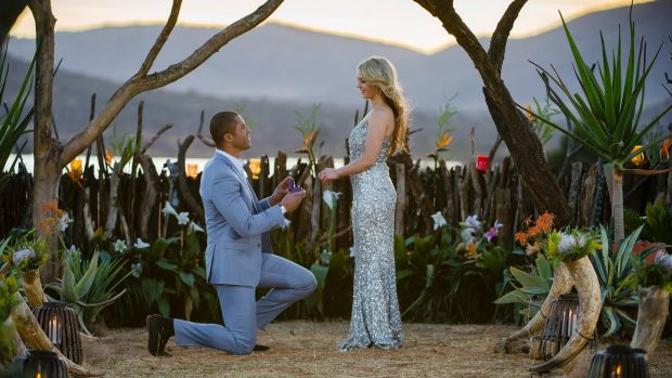 Garvey proposed to Sam Frost on The Bachelor, but dumped her before the finale even had aired.