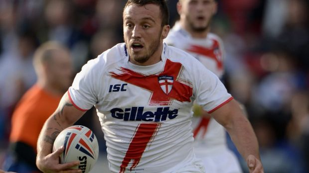 Bad timing: Canberra recruit Josh Hodgson has embarrassed England and the Raiders with his party prank.