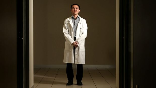 Dr Michael Wong almost died three years ago in a stabbing attack at Western Hospital.