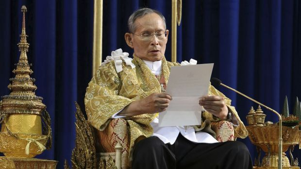 Unity force: King Bhumibol has endorsed a new National Reform Council.