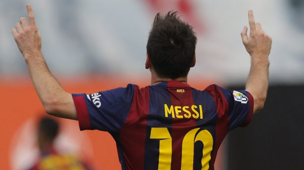 A different path: Lionel Messi has excelled as a Barcelona player.