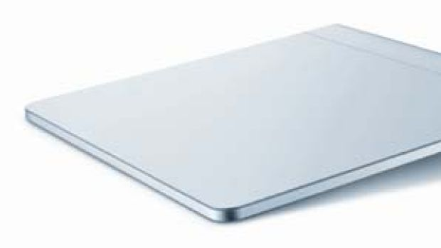 "Apple's ""Magic Trackpad"", a touchpad which allows a user to operate a desktop computer with finger gestures, eliminating ..."
