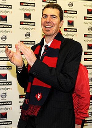 Melbourne Football Club president Jim Stynes.