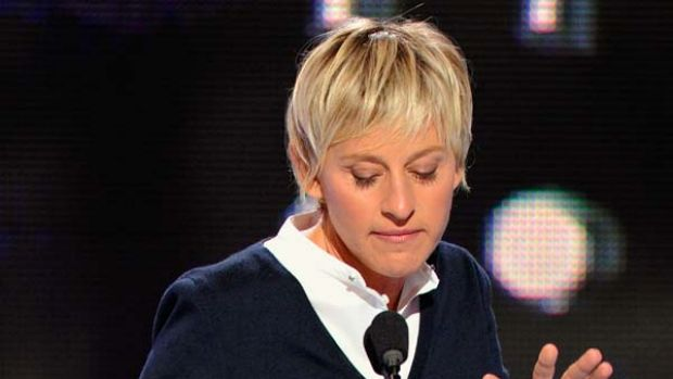 Doesn't want to offend ... Ellen DeGeneres reluctant to criticise.