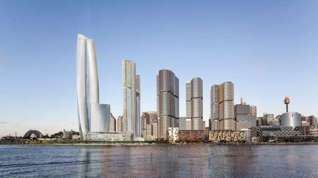 Controversial: An artists impression of the proposed Barangaroo VIP casino.
