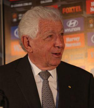 FFA chairman Frank Lowy.
