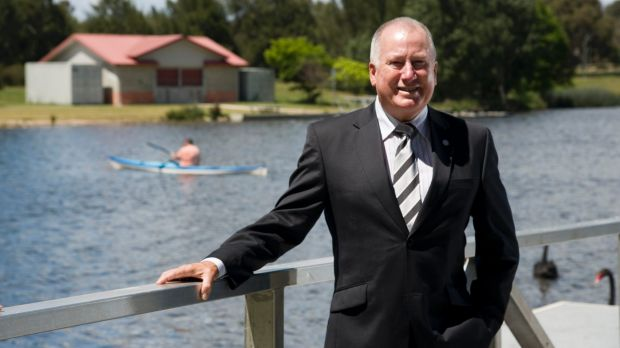 Mick Gentleman hopes Woden  will become the new Braddon.