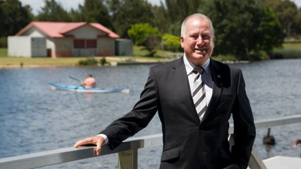 Planning Minister Mick Gentleman hopes to gather ideas to bring back to Canberra.