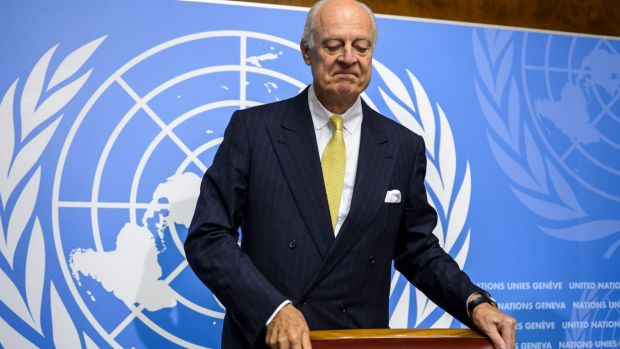 United Nations special envoy for Syria Staffan has formally presented the idea of a truce to Syrian President Bashar Assad.