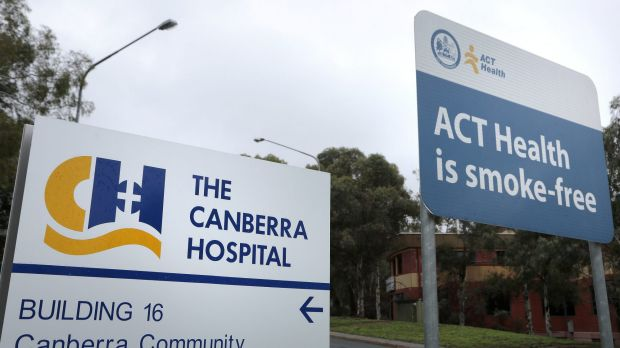 Canberra Hospital: Greater attention is being given to patients' personal care.