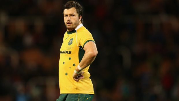 Veteran leadership: Adam Ashley-Cooper is hoping the Wallabies can overcome their dramas and upset the All Blacks.