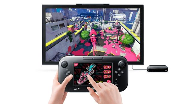 The game is played on the Wii U gamepad, which makes a great easy-reference map.