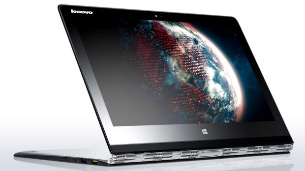For more grunt and productivity, Lenovo's also refreshed its transforming laptop line with the Yoga 3 Pro.