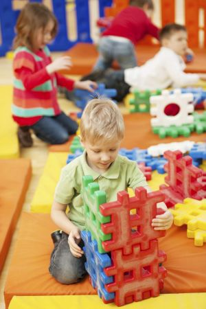 Clever strategy: Shy children can be helped to join their classmates by teachers organising structured opportunities for ...