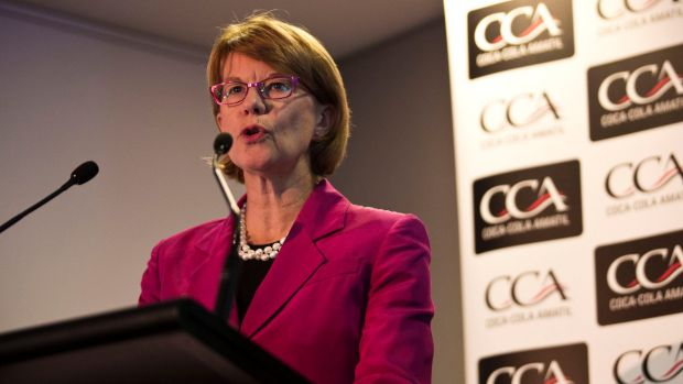 Coca-Cola Amatil chief executive Alison Watkins says the performance on promoting women is poor.