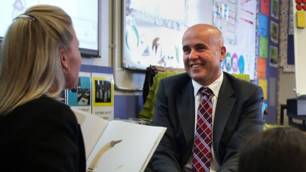 New rules: NSW Education Minister Adrian Piccoli has brought in changes to the way schools spend public funding.