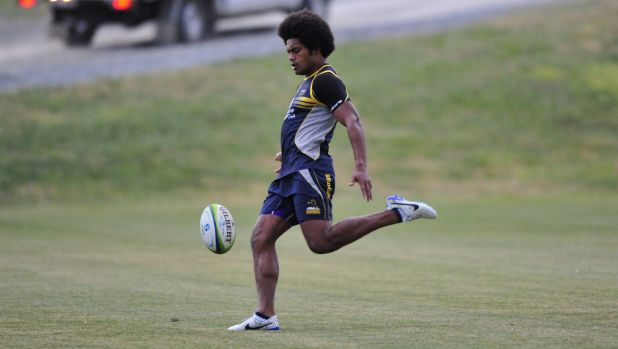 Henry Speight will play 50 minutes for the Canberra Vikings on Saturday.