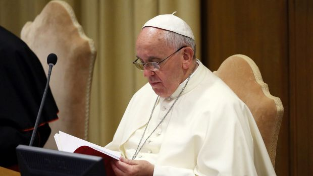 "Pope Francis denounced euthanasia as a ""sin against God""."
