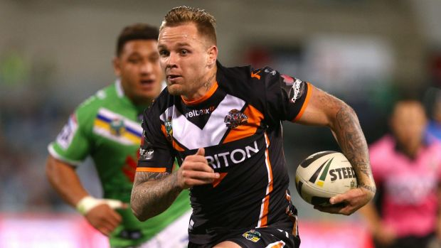 Green signing: Blake Austin has joined the Raiders on a three-year deal.