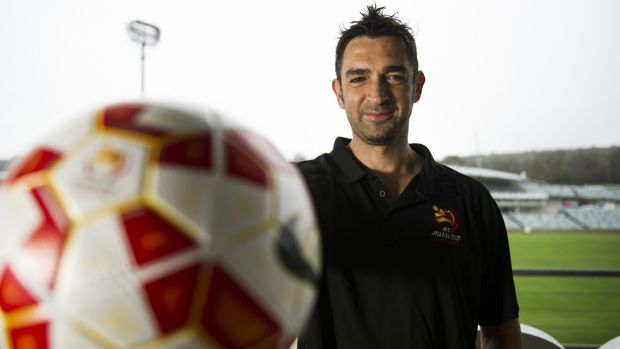 Canberra's Ned Zelic is an Asian Cup ambassador.
