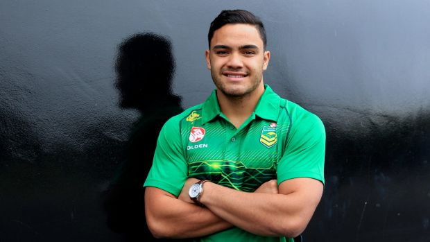 """""""Next-gen baby"""": South Sydney's Dylan Walker has been named in the Kangaroos squad."""