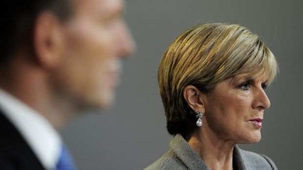 """Foreign Affairs Minister Julie Bishop says the visa ban is necessary to for the """"safety and security of Australians""""."""