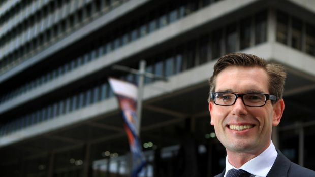 Minister for Finance, Service and Property Dominic Perrottet.