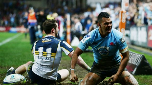 Kurtley Beale's Waratahs future is up in the air.