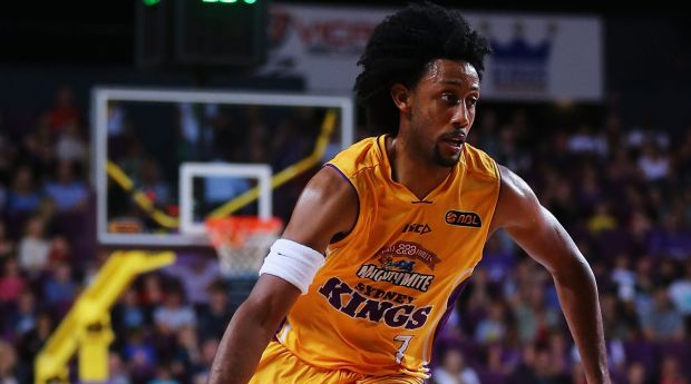Strong performer: Josh Childress played well but could not get the Kings home against Townsville.