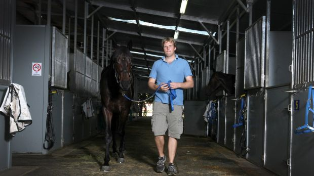Slim pickings: Bjorn Baker has had a torrid start to the new racing season.