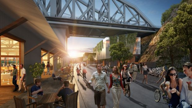 Construction works start on Howard Smith Wharves ...