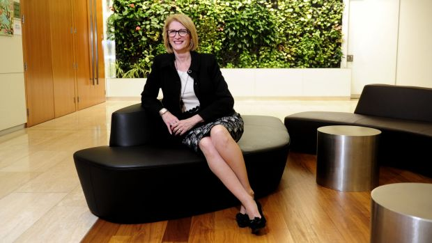 Happier times:  former Shared Services Centre chief executive Delaine Wilson.