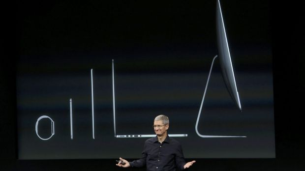 CEO Tim Cook says Apple now has its strongest lineup of devices ever.
