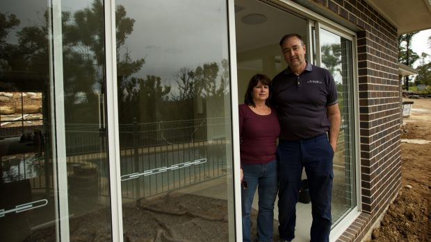 Andrew and Tracy Curtis are about to move into their new home at Yellow Rock.
