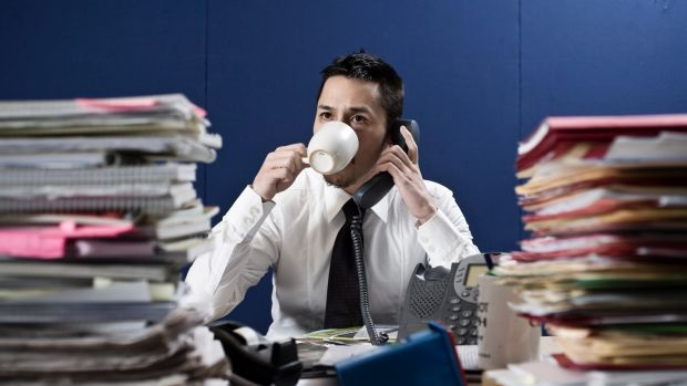 Overloaded: Taking on too much work upsets the balance you need to lead a healthy lifestyle.