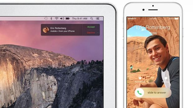 Yosemite has been designed to work closely with iOS for iPhones and iPads.