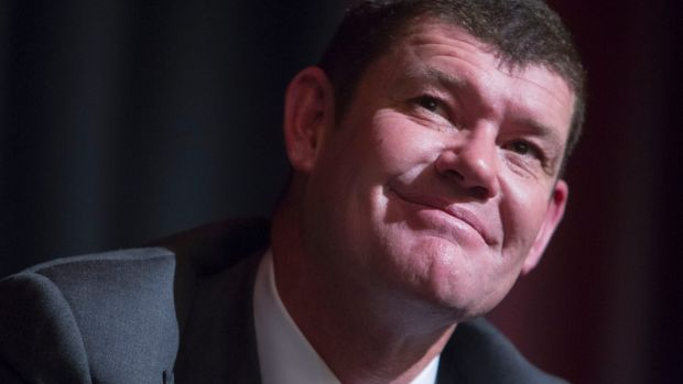 The biggest end of town: James Packer.