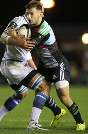 Danny Care scored a try for Quins.