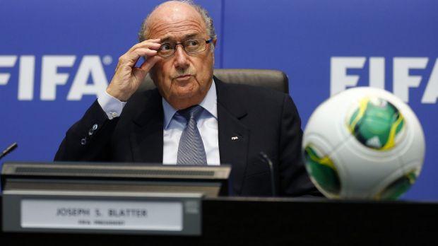 """""""Sepp is not the president of FIFA anymore - he is FIFA"""": European Football federation head Michel Platini."""