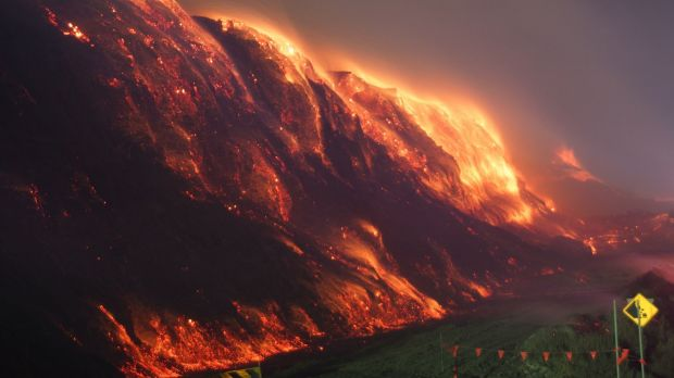 The Hazelwood coal mine fire covered the Latrobe Valley in smoke and ash for weeks.